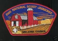 MINT 2005 JSP Mid-Iowa Council Red Border