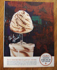 1962  Sealtest Ice Cream Ad French Ice Cream