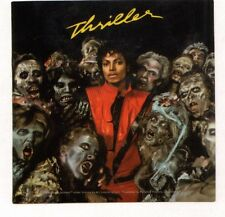 Michael Jackson Thriller Zombie licensed sticker stopping buying bootlegs