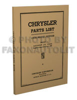 ID 1929-1942 Chevrolet Chevy Parts with this book Casting Forge Stamp Numbers