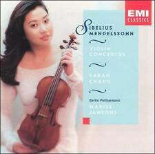 Sarah Chang - Mendelssohn/Sibelius CD, NM