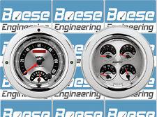 54 55 Chevy Truck Billet Aluminum Gauge Panel Dash Insert Instrument Cluster