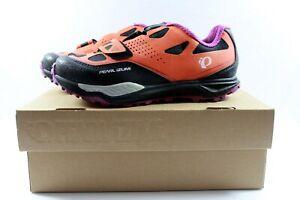 Pearl Izumi X-Alp Launch II Mountain Bike Shoes Women Orange Purple 36.5 US 5.5