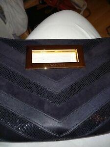 Genuine Michael kors black clutch bag