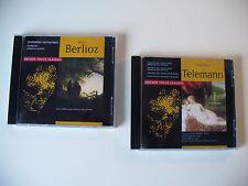 Berlioz & Telemann, 2 Alben aus der Golden Touch Classic Serie, CD (Box 67)