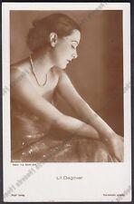 LIL DAGOVER 33 ATTRICE ACTRESS SCHAUSPIELERIN CINEMA MOVIE STAR Cartolina FOTOGR