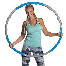 Azure Weighted Hula Hoop 1.2kg Exercise Fitness Foam Padding Workout Massage