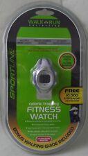 SPORTLINE Pedo 955 Pedometer & Fitness Gray Watch - NIP New