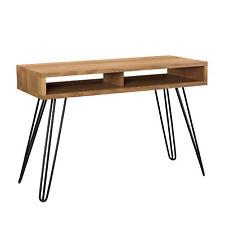 [en.casa] Bureau 110x45cm Secrétaire Bureau Console Table PC Table d'ordinateur