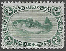 Newfoundland Scott Number 24 FVF HR
