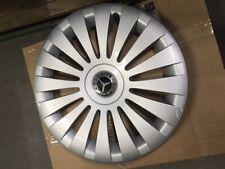 Mercedes Benz Original 4 Hub Caps 17 Inch W 639 Vito & Viano Silver/Black New