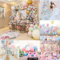 "30pcs 5""/10"" Latex Balloons Macaron Baby Shower Birthday Wedding Party Decor gl"