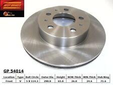 Disc Brake Rotor-Standard Brake Rotor Front Best Brake GP54014