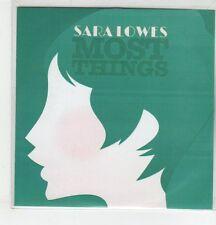(ER736) Sara Lowes, Most Things - 2013 DJ CD