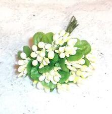 VINTAGE style MillineryYW Bead flower pick/bunch Dolls, Scrapbook & Crafts
