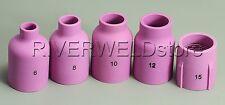 TIG KIT LG.Dia Gas Lens Alumina Cups 57N74~75 Fit TIG Torch DB SR WP17 18 26,5PK