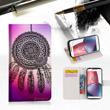 Dream Catcher Wallet TPU Case Cover For  Motorola Moto G4 Plus -- A027