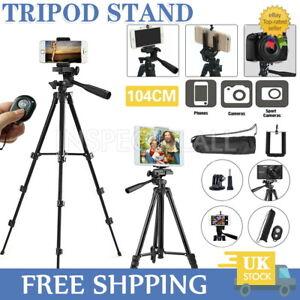 Universal Tripod Stand Telescopic Camera Phone Holder for iPhone Samsung Live UK