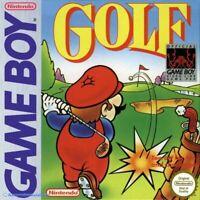 Nintendo GameBoy Spiel - Golf / Mario Golf mit OVP