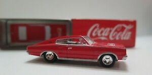 2003 Coca Cola Johnny Lightning 1966 Dodge Charger With Tin Die Cast
