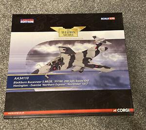 Corgi The Aviation Archive Buccaneer S.Mk2B 208 Sqn. RAF Honington. Limited ed