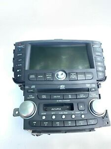 2004-2008 ACURA TL NAVIGATION UNIT DISPLAY SCREEN RADIO CD PLAYER OEM
