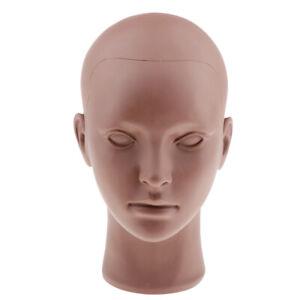 Makeup Mannequin Head Black Cosmetology Massage Practice Training Manikin