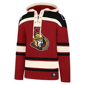 NHL Hoody Ottawa Senators 2020 Hooded Pullover Lacer Jersey Hooded Sweater