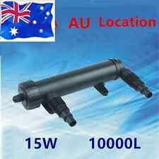 Submersible Aquarium UV Steriliser Lamp Multifuntional Water Filter Pump 1700L/H