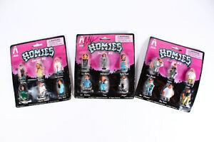 Homies Series #2 (3) Packs of 6 Figures, (1) Pack SIGNED Creator David Gonzales