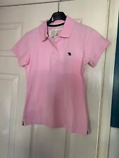 Womens Pink Abercrombie & Finch T-Shirt Size 8-BNWOT