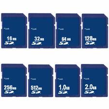 16MB 32MB 64MB 128MB 256MB 512MB 1GB 2GB SD Secure Digital Flash Memory Card New