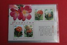 2000-24  CHINA STAMP flower  SHEET MNH