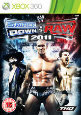 wwe Smackdown vs Raw 2011  ~ XBox 360 (in Great Condition)
