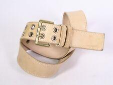 G419 Roberto Bellido Basic Basic Cintura in Pelle Beige 95 cm pantaloni  cintura 92f24771f99