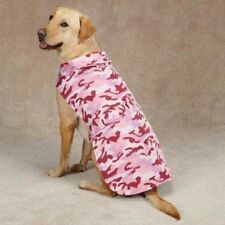 Casual Canine PINK CAMO DOG Barn Coat Jacket Fleece lined XXSmall