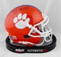 Deshaun Watson Autographed Clemson Schutt Mini Helmet- JSA Witnessed Auth * Blk