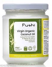 Fushi Cold Pressed Unrefined Organic Raw Extra Virgin COCONUT OIL 300ml