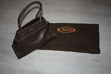 Original Tod's Tasche, Dunkel Braunes Leder