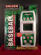New Unopened COLECO HEAD-TO-HEAD ELECTRONIC BASEBALL 2 PLAYER GAME SYSTEM