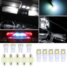 13x LED Car Interior Inside Light Dome Trunk Map License Plate Lamp Bulb White