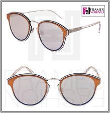 1e7475d0e3a1 CHRISTIAN DIOR NIGHTFALL Crystal Orange Silver Mirrored Sunglasses  DIORNIGHTFALL