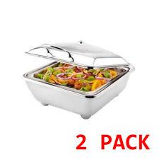 2 X Sunnex Genoa 2/3 Size Electric Chafer Chafing Dish Food Warmer Buffet 5.5l