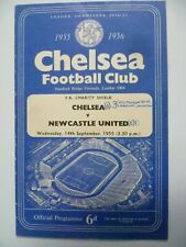 More details for 1955 chelsea v newcastle united 14th sept charity shield programme very rare