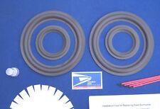 Altec Lansing Model Seven Series II Speaker Foam Surround Woofer Mid Repair Kit