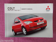 MITSUBISHI COLT 3 DOOR (2004 - 2008) OWNERS MANUAL - GUIDE - HANDBOOK (MIT 47)