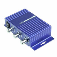 150W 12V 2 Channel Hi-Fi Stereo Audio DVD MP3 Amplifier for Car Motorcycle