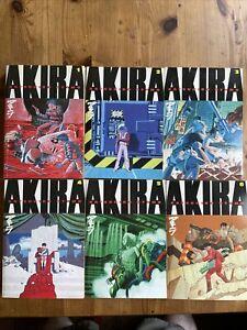 Akira Softcover Set 1-6 Katsuhiro Otomo Dark Horse