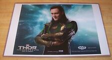 Loki Tom Hiddleston 11X17 Skype Ad Print