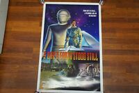 RARE ~ THE DAY THE EARTH STOOD STILL - ONE SHEET 1 SH - ROLLED - GREAT CONDITION